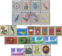 San Marino Unmounted Mint / Never Hinged Weapons And Rüstungen 1974 WeApons And Rüstungen U.A. - San Marino