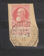 COB 74 Oblitération Centrale LE HAVRE - 1905 Grosse Barbe