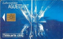 Télécarte Promotionnelles 5 U - Gn237 - Laboratoire AGUETTANT - GEM - 5 Einheiten