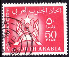 Jemen (Südarabische Föderation) - Wappen (MiNr: 10) 1965 - Gest Used Obl - Yemen
