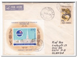 Roemenië 1994, Letter To Netherland - Covers & Documents