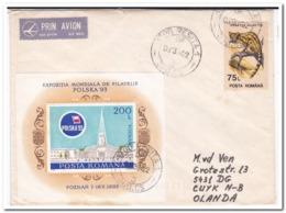 Roemenië 1994, Letter To Netherland - 1948-.... Repúblicas