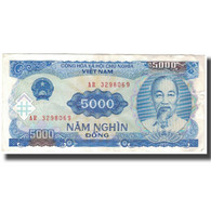 Billet, Viet Nam, 5000 D<ox>ng, 1991, KM:104a, TTB - Vietnam
