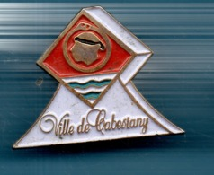 PIN  VILLE DE CABESTANY - Pin