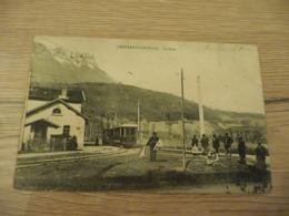 CPA 3 Isère Chapareillan La Gare - Autres Communes