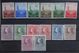 NEDERLAND   Dienstzegel 1951     D 27 - 32 / D 33 - D 40      Gestempeld    CW  18,30 - Dienstpost