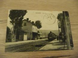 CPA 3 Isère Chabons La Gare - Autres Communes
