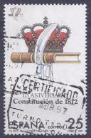 España-Spain. Constitución De 1812 (o) - Ed 2890, Yv=2512d - 1931-Hoy: 2ª República - ... Juan Carlos I