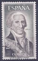 Espa�a-Spain. Gaspar Jovellanos (o) - Ed 1655, Yv=1294, Sc=1304, Mi=1532 - 1961-70 Usados