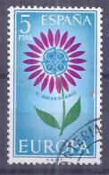 Espa�a-Spain. Europa (o) - Ed 1614, Yv=1263, Sc=1272, Mi=1502 - 1961-70 Usados