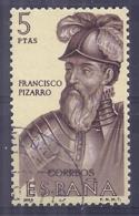 Espa�a-Spain. Francisco Pizarro (o) - Ed 1629, Yv=1278, Sc=1293, Mi=1518 - 1961-70 Usados