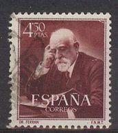 España-Spain. Jaime Ferran Y Clua (o) - Ed 1120, Yv=794, Sc=833, Mi=1012 - 1951-60 Usados