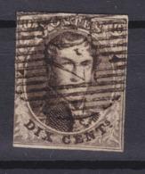 N° 6 Touché DISTRIBUTION 40 - 1851-1857 Médaillons (6/8)