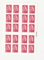 Marianne Engagée - DAB 20tvp Rouge - ' Retrouvez La Nouvelle Marianne ' - Carnets