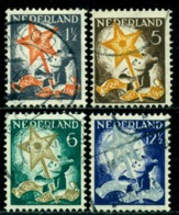 Netherlands 1933 Child With Three Kings Star,Mi.268 A,VFU - Childhood & Youth