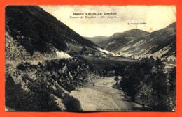 """CPA 04 Haute Vallée Du Verdon """" Travers De Brachai """" - Frankrijk"""
