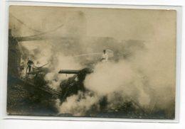 60 BEAUVAIS 1er  Aout 1907 CARTE PHOTO Incendie  Pompiers Lance     D17 2019 - Beauvais
