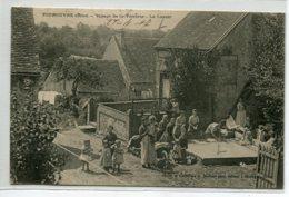 61 TOUROUVRE Village De La Verrerie Lavoir Lavandieres  Laveuses écrite 1907 Timb Edit Maillaud Père    D17 2019 - Francia