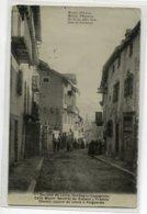 ESPAGNE  LLIVIA Villageois Calle Mayor Neutral De Espana Y Francia  écrite 1907 Timb     D17 2019 - España