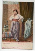 TURQUIE Souvenir De  Beauté Orientale Femme Dans Chambre  Edit Zachariou Koury Smyrne  - Coulleur 1900  D17 2019 - Turquie