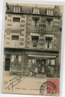 61 ATHIS De L'ORNE  Anim Patrons Commerce TABAC  Coin De La Place  1906 Timb  D17 2019 - Athis De L'Orne