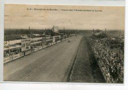 AUTOMOBILE   Le Mans Circuit De La Sarthe 1936 Timbrée   Aspect Des Tribunes Pendant La Course   D17 2019 - Le Mans