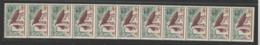 France 1965 Ronchamp 1435 Roulette De 11 Avec ** MNH - Rollen