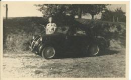 CARTE PHOTO    ...AOÛT 1947 SIMCA - Turismo