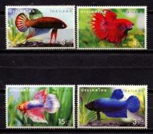 Thailand 2002 Tailandia / Fishes MNH Fische Peces Poisson / C11507  2-18 - Peces