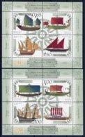 Old Sailboart -  Bulgaria / Bulgarie 2019 - 2 Sheets( Stamp With Vigntes MNH** - Bulgarien
