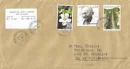 Mauritius 2019 Port Louis Mahatma Gandhi Water Flower Ebony Tree Meter Cover - Mahatma Gandhi