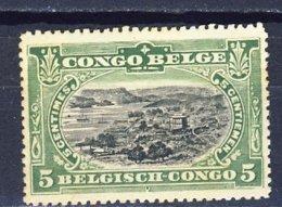 Belgisch Kongo - Congo Belge Nr 54   Postfris Met Plakker - Neuf Avec Charnière - MH - 1894-1923 Mols: Neufs