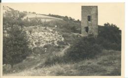 CARTE PHOTO     ... JARDIN   (  ISÈRE  ) AOÛT 1947  TOUR DE MONTLEAN - Autres Communes