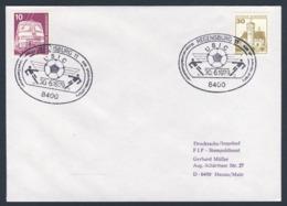 Deutschland Germany 1979 Brief Cover - XI Eisenbahner Fussball-Meisterschaft, Regensburg / Railroad Soccer Championship - Treinen