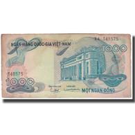 Billet, South Viet Nam, 1000 D<ox>ng, KM:34a, AB - Vietnam