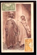 Arten Von Marokko. Araber Von Souss. Durchschnittlicher Zustand. Foxing. In Umlauf Gebracht. 2 Briefmarken. 4 Dichtungen - Agadir