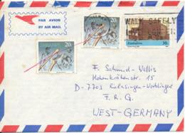 Zimbabwe Air Mail Cover Sent To Germany 22-3-1991 - Zimbabwe (1980-...)