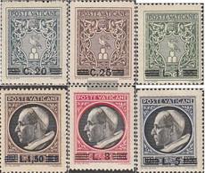 Vatikanstadt 116-121 Unmounted Mint / Never Hinged 1945 Print Edition - Vatican