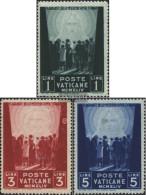 Vatikanstadt 113-115 (complete Issue) Unmounted Mint / Never Hinged 1945 Victims Of War - Vatican
