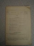 Document Sur La Composition De La Batterie De 155 C Mle 1915- St CHAMOND - 1914-18
