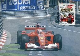 48292 Monaco, Maximum  2002,  Automobilismo,  Racing Cars Ferrari F2001 - Cars