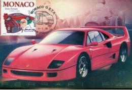 48293 Monaco, Maximum  1998,  Automobilismo,  Racing Cars Ferrari F40 - Cars