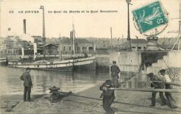 LE HAVRE - Le Quai De Marée Et Le Quai Brosbrom. - Le Havre