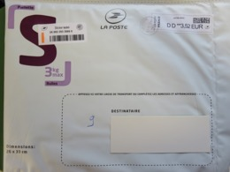 Pochette Bulles De La Poste - Sticker Suivi - Cachet Rond + Vignette Datamatrix Lettre Verte - 02.10.19 - Biglietto Postale
