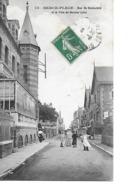 62 BERCK PLAGE Cpa Rue De Rothschild Et La Villa Du Docteur Calot 75 G.B - Berck