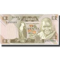 Zambie, 2 Kwacha, KM:24c, NEUF - Zambia