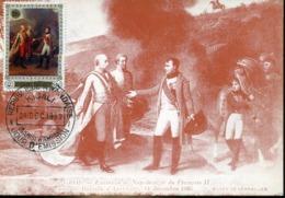 48297 Rwanda, Maximum 1969  Painting Au Musee De Versailles, Napoleon Et Francois II Apres Bataille D'austerlitz - Napoleon