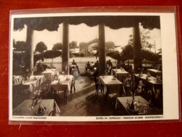 (FP.A04) VERBANIA PALLANZA - HOTEL St. GOTHARD Animata, PENSION SUISSE (Albergo San Gottardo, Lago Maggiore) Saint - Verbania