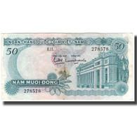 Billet, South Viet Nam, 50 D<ox>ng, KM:30a, TB+ - Vietnam
