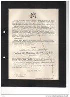 Adèle Ronchain Veuve De Volder Ministre état °1856 +bruxelles 11/4/1940 Doyon Sorée Trannoy TOngerloo Leyniers Ernst De - Avvisi Di Necrologio